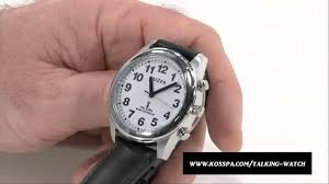 talking wrist watch for the blind and visually impaired talking wrist watch for the blind and visually impaired