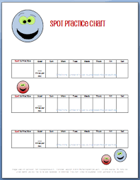 Spot Practice Chart My Fun Piano Studio