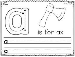 Lower Case Letter Practice Sheet Letter Sound Practice Worksheets Teaching Resources Teachers Pay