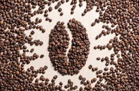 imagem do grãode café produzido com graõs de café.
