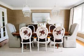 hardware dining table exclusive: a dining room in potomac md designed by erica burns has restoration hardware