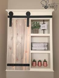 diy barn door cabinet