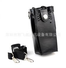 walkie talkie leather case fit for gp328 ht750 gp340 pro5150 holder holster 2 way radio holster walkie talkie best walkie talkie radios from therese