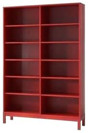red bookcase modern bookcases cabinets and computer bookshelves shelves