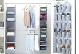 closet with over the door organization storage ideas diy article