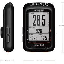 Bryton Wheel Size Chart Bryton Rider 410 E Gps Cycling Computer Black Bike24
