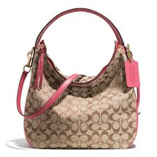 Lyst - Coach Bleecker Sullivan Hobo Bag in Signature Fabric in Pink