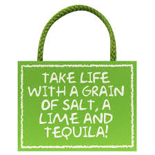 take life with a grain of salt hanging wooden sign by woodposite sign with rope for hanging by my word