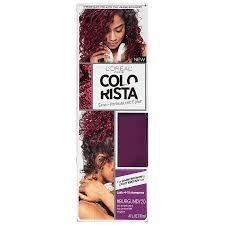 l oreal paris colorista semi permanent hair color for brunettes burgundy1ea