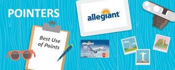 allegiant frequent flyer miles the best use of allegiant air points