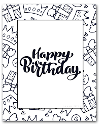 Seuss, we have downloadable coloring pages in popular. 60 Best Free Printable Happy Birthday Coloring Sheets Stickers Cards Gift Tags And More Sarah Titus From Homeless To 8 Figures