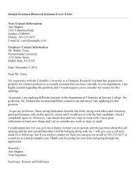 Brilliant Ideas Of Cover Letter Research Assistant Bright Idea Cover