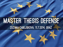 Master thesis Defense