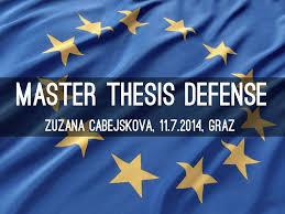 Master thesis Defense Haiku Deck