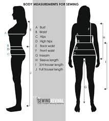How To Measure Your Size For Clothing The Sewing Revival