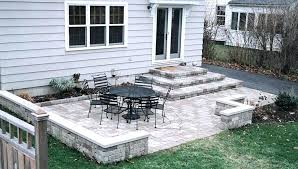 Simple concrete patio designs Back Yard Great Simple Concrete Patio Design Ideas Photos And Patterns The Decorating For Halloween In September Meme Theinnovatorsco Backyard Cement Patio Ideas Concrete Landscaping Inspirational