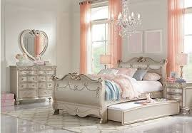 princess bedroom furniture. disney princess silver 5 pc full sleigh bedroom furniture u