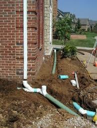 underground gutter drainage. Underground Gutter Drainage Www.springrockgutters.com #gutters #springrockgutters #gutterdrainage D