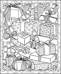 Christmas Coloring Pages Adults Beautiful Free For Pdf Bustayes