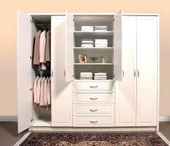 cabinet closet white wardrobe closet storage systems home depot