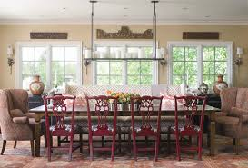 painted dining chairs dining room traditional with area rug bold patterns image by andrea schumacher interiors