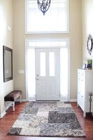 vibrant runner rugs for entryway rug designs inspiring