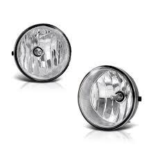 2013 Toyota Tacoma Fog Light Bulb Amazon Com Vipmotoz Chrome Housing Oe Style Front Fog Light
