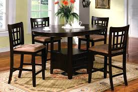 counter height round pub table black counter height table and chairs enormous dining sets design ideas