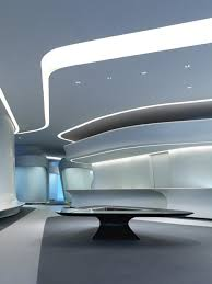 futuristic office ditches cubicles super. Futuristic Interior, Zaha Hadid, Tron Inspired - Love This Designer. Reminds Me Of The Jetsons! Office Ditches Cubicles Super