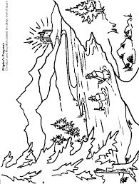 Pilgrims Progress Coloring Page 5