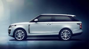 luxury full size suv 2019 range rover sv coupe revealed first full size luxury suv coupe
