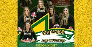 No. 3 Concordia Wins in Three on Senior Night | Golden State Athletic  Conference