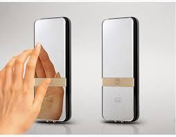 digital door lock for glass sydg313