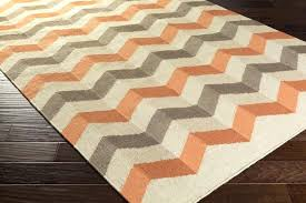 orange and gray area rug archive with tag orange and grey area rug x size deasia orange and gray area rug