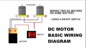 how to wire a dc motor on battery switch and relay how to wire a dc motor on battery switch and relay