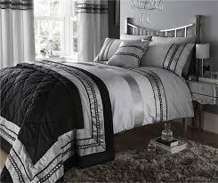 black white silver bedding sets bedding designs black and silver bedding sets free