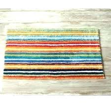 blue striped bath rug pin by on cutout rugs bathroom green striped bath rugs