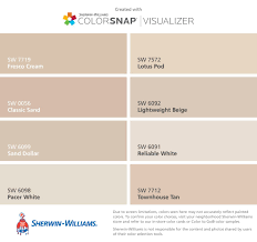 Sherwin Williams Light Beige I Found These Colors With Colorsnap Visualizer For Iphone
