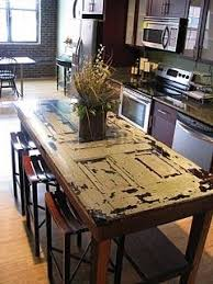 old door made into a table love