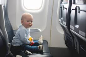 a separate airplane seat for baby is safer and more convenient