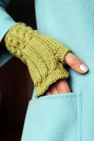 Fingerless Gloves Knitting Pattern Circular Needles