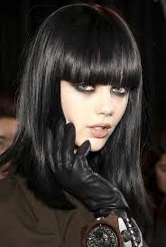 Hairstyles With Blunt Fringe 64 Best Images About Hair Bangs Fringe On Pinterest