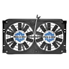 flex a lite® 330 direct fit dual electric fan flex a lite® direct fit dual electric fan