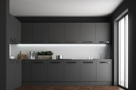 there are three options for you to choose from when selecting kitchen cupboard finishes