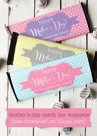 Mothers Day Candy Bar Wrappers