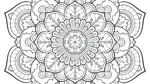 Mandela Coloring Pages Coloring Flower Mandala Coloring Pages Page