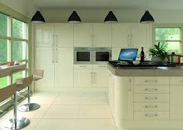Cream Gloss Kitchen Wall Units With Ludlow Cream Gloss Doors From Samedeal Ltd