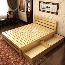 bed designs in wood. Bed Designs In Wood New On Cool Solid Wooden Double With Box Teak