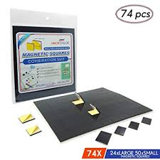 Heavy duty magnetic strips Knife Multiuse Adhesive Magnets By Jack Chloe1 Magnetic Strips Of 74 Magnetic Squares Tidalvco Amazoncom Multiuse Adhesive Magnets By Jack Chloe Magnetic