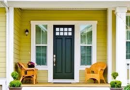 Image of: feng shui front door color